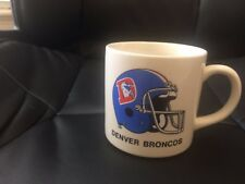 1987 Denver Broncos Old Logo Super Bowl XXI (21) Coffee Mug