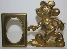 Vintage Disney Mickey Mouse Brass   Picture Frame     FREE POSTAGE PL-3835