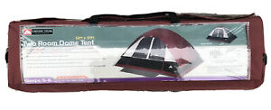 Ozark Trails- Two Room Dome Tent (6-5 person tent) 12 x 10 feet , New In Box