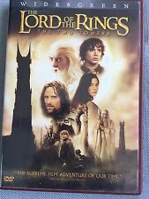 The Lord Of The Rings DVD The Two Towers Movie Widescreen 2 Disc Rated PG-13