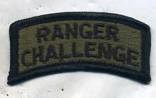US Army Ranger Challenge Patch Tab Subdued
