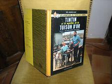 TINTIN ET LE MYSTERE DE LA TOISON D'OR - EDITION 1b 1962 DOS ROND JAUNE