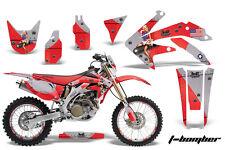 Honda CRF 450X Graphic Kit AMR Racing # Plates Decal Sticker Part 05-13 TBR