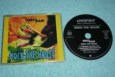 Westbam Maxi-CD Rock The House - 3-track CD - 879 673-2