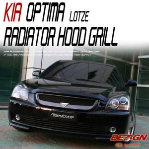 Front NEW Radiator Hood Grill Clear White UD For 07 08 Kia Optima : Magentis