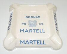 Cendrier publicitaire Martell, estampillé Digoin-Sarreguemines