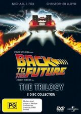 Back To The Future - The Trilogy (DVD, 2008, 3-Disc Set) regions 2,4