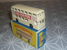 DAIMLER BUS BEIGE MATCHBOX EN BOITE