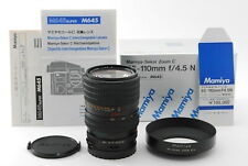 【UNUSED in BOX】Mamiya Sekor Zoom C 55-110mm f/4.5 N Lens for 645 From Japan