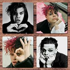Yungblud Coasters NEW Set Sexy Hot For Coffee Tea Cup Mug Mat