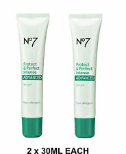 2 X No7 Boots protect and perfect advanced serum Intense size 30ml