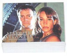 Stargate Atlantis Season 1 Complete 63 card base set by Rittenhouse in 2005