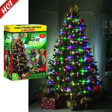 Colorful LED Light Christmas Tree Fiber Optical Night Light Bulb Lamp Xmas Decor