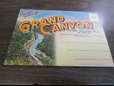 SOUVENIR FOLDER OF PENNSYLVANIA'S GRAND CANYON - NEAR WELLSBORO -  20 PANELS