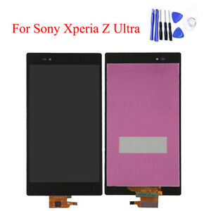 100% Original Full Touch Screen LCD Display Digitizer for Sony Xperia Z Ultra