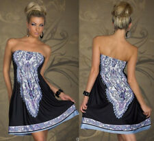 Plus Size  Summer Women Retro Floral Short Sleeve Beach Dress Boho Maxi Sundress