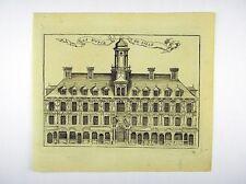 Stock exchange Lille Nord-Pas-de-Calais France Europe Copper chrystin 1786 #d861s
