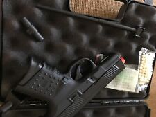 AIRSOFT Full Metal GREEN GAS BLOWBACK HAND GUN PISTOL With Carry Case
