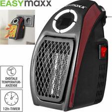 EASYmaxx Steckdosen Heizung Elektro Heizgerät Heizlüfter Heiz Wärme Strahler NEU