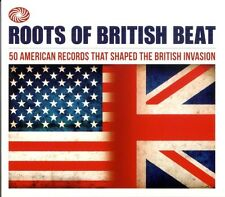 Roots Of British Beat 2-CD NEW SEALED Crickets/Coasters/Sam Cooke/Bo Diddley+
