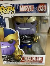 Funko POP! Marvel - Thanos Vinyl Figure (43336) Holiday Pop 533 brand new