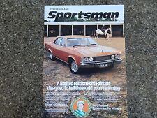 FORD 1978 ZH ''SPORTSMAN'' FAIRLANE SALES  BROCHURE ''RARE'' 100% GUARANTEE.