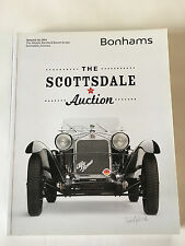 Bohnams Collector Car Auction Catalog 2014 Scottsdale Arizona lk Barrett Jackson
