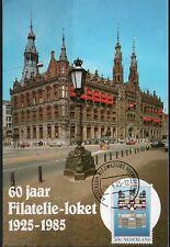 Nederland  - 60 jaar FILATELIE LOKET POSTKANTOOR AMSTERDAM - postcard - Mint