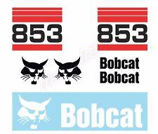 Bobcat 853 Skid Steer Set Vinyl Decal Sticker - Aftermarket