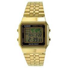 Casio World Time Digital Alarm Watch A500wga-1df A500wga-1 A500wga