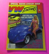 VW TRENDS MAGAZINE SEPT/1993....SPECIAL WATER-COOLED ISSUE...EVENTS
