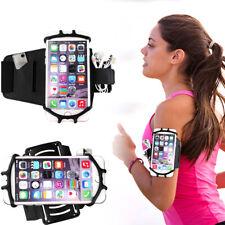 Rotating Armband Sports Gym Running Jogging Exercise Arm Band Phone Holder Bag