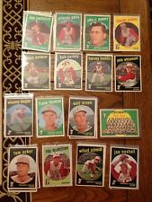Red Legs Team Card 1959 Topps  (One Card) (8387)