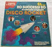 DISCO ROCKET LP VARIOUS 33 GIRI VINYL ITALY 1978 K-TEL TL103 NM/EX