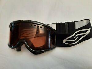 SMITH Snow Goggles Snowboard Ski Skiing Size Adult Black