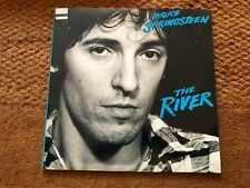 Bruce Springsteen The River Rare Double Vinyl Album Orig Inners and Lyric Sheets