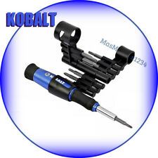 KOBALT 18-in-1 Precision Screwdriver Set PHILLIPS, TORX, FLAT, Aluminum Handle