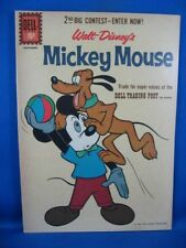 Mickey Mouse #80 (Aug-Sep 1961, Dell) VF NM All Paul Murry Issue