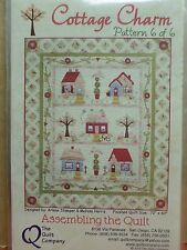 COTTAGE CHARM THE COMPLETE SET OF 6 QUILT PATTERNS, From The Quilt Company NEW