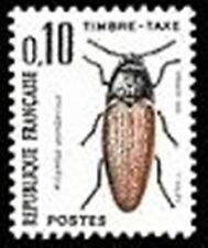 """FRANCE STAMP TIMBRE TAXE N° 103 """" INSECTES , COLEOPTERES 10c."""" NEUF xx TTB"""