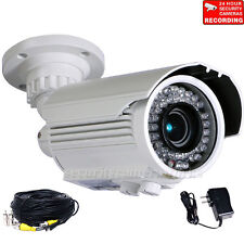 Security Camera Outdoor IR Day Night Built-in SONY CCD Varifocal 700TVL CCTV BTY