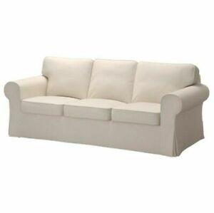IKEA EKTORP 3 Seat Sofa COVER ONLY Lofallet Beige NEW IN BOX