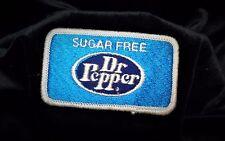 "Sugar Free Dr Pepper Patch New Vintage Original 2"" x 3.50"""