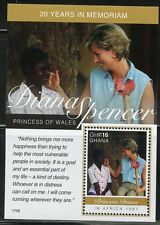 GHANA 2017 20th MEMORIAL ANNIVERSARY OF PRNCESS DIANA S/S I  MINT NH