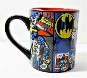 Batman Comics Coffee Cup Mug 14 oz New