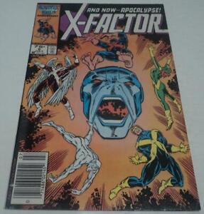 X-FACTOR #6 (Marvel Comics 1986) 1st full appearance of APOCALYPSE (FN+) X-MEN