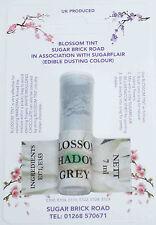 Sugarflair Shadow Grey Blossom Tint Powder, 7ml, Edible Food Colour Dust