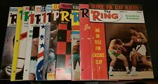 The Ring Boxing Magazine 1971 Entire Year 12 issues In 3 Ring Binder Book