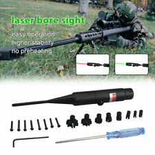 Green/Red Laser Bore Sight for .177 to .50 Caliber BoreSighter for Hunting Rifle