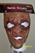 ADULT SERIAL KILLER 25 SCARY CRAZY INSANE LATEX MASK COSTUME TB25525